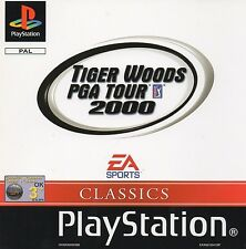 Tiger Woods PGA Tour 2000 Sony Playstation PS1 Game Excellent Boxed with Manual