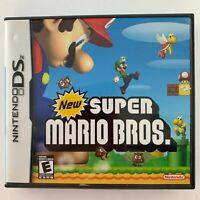 Case & Manual only - New Super Mario Bros. (Nintendo DS, 2006) No game cart