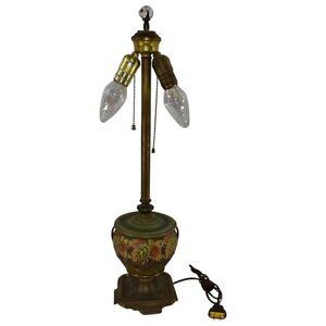 Roseville Pottery Blackberry Lamp Vase