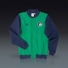 ~Umbro NEW YORK COSMOS VARSITY BOMBER JACKET FLC Track jersey-sweat shirt~Sz Med