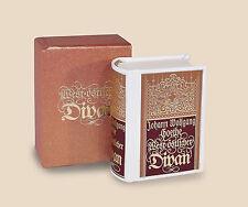 Miniaturbuch Minibuch:  Goethe, West-östlicher Divan