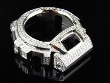 Men's G- Shock DW-6900 Simulated Lab Diamond Stainless Steel Watch Bezel