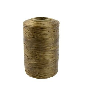 1 Roll Natural Sinew Waxed Beading Craft Poly Thread Spool Artificial Wax Sinue