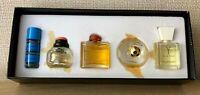 YSL Classic selection aroma Eau De Toilette Set 5 ml / .17 fl.oz x5 Vintage Rare