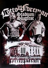 Original Vintage Miguel Cotto vs. Yuri Foreman Boxing Fight Poster