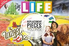 The Wizard of Oz Game of Life Collectors Edition Replacement Parts: You Choose