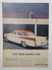 Original Print Ad 1956 CHRYSLER PowerStyle Year-Ahead Car