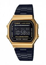 Casio Watch * A168WEGB-1B Vintage Gold & Black Steel Ivanandsophia COD PayPal