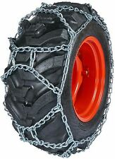 Quality Chain DUO254 10mm Duo Grip H-Pattern Tractor Tire Chains Snow Traction