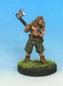 Foundry Painted Viking Beserker 28mm Saga