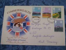 Briefmarken , Ersttagsbrief , März 1983 , Commonwealth Day , Brief nach Krefeld