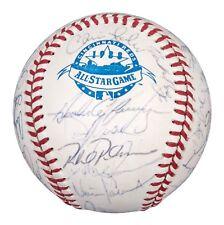 1988 NL All Star Team Signed Baseball Greg Maddux Ryne Sandberg Gary Carter PSA