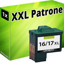 TINTE PATRONE für LEXMARK 16/17 X1100 X1110 X1130 X1140 X1150 X1155 X1160 X1170