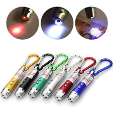 Mini 3in1 LED light Torch Flashlight + Laser Pointer Pen + Money Detected HOT FR