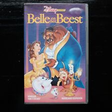 BELLE EN HET BEEST  - VHS - DISNEY