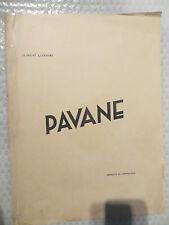 Pavane par FLORENT LEFEBVRE PARTITIONS ANCIENNES  POUR CHANT, PIANO ET VIOLON