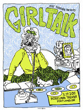 Girl Talk 2011 Limited Edition Gig Poster