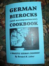 Alemán Bierocks Cookbook Masa de Hojaldre Baking Cena Carnes