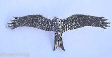 RED KITE SOARING BIRD Hand Made in UK Pewter Lapel Pin Badge
