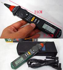 LCD Pen Multimeter MS8211D FOR resistor DC AC voltage current LOGIC Test probes