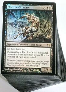 ***Custom Commander Deck*** Marrow-Gnawer - Rat Tribal - MTG EDH Magic Cards