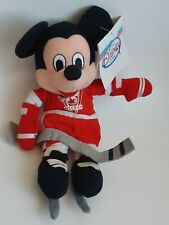 The Disney Store HOCKEY MICKEY Mickey Mouse Bean Bag Mini Plush