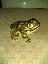 Brush McCoy Pottery Frog Figurine 5 1/4""