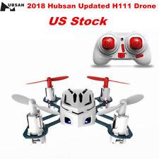 Hubsan Nano Q4 H111 Quadcopter 2.4Ghz 4CH 6 Axis LED mini white Drone UFO RTF US