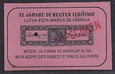 Private Die Proprietary Medicine Trademark Stamp Barclay and Company PSMBC6.2s