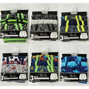 Boys 3 Pack Boxer Shorts Boxers Kids/Childrens Pants Underwear Age 2-13 Years