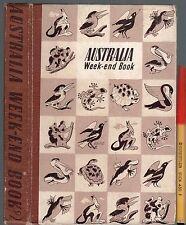 ~1943 The AUSTRALIAN WEEKEND BOOK Vol 2 224pg Hardcover GC+