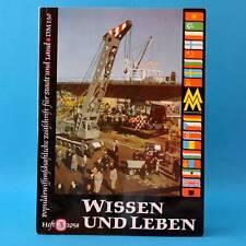 Wissen und Leben 3/1958 | DDR | NVA Werra Leipzig Skispringen Datsun 1000 Uran