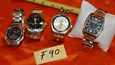 Men's Watch Lot K.Cole, George, Casio and DKNY F90