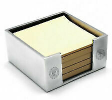 Accessorio scrivania AG Spalding Bros Vintage 862851U828 porta post it alluminio