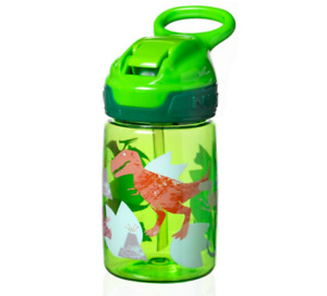 Nuby Tritan Sippy Cup, Incredible Gulp Active Toddler Cup, 360 ml Green Dinosaur