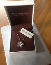 Hot Diamonds Sterling Silver Necklace - Paradise Petal Pendant BRAND NEW