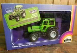 Deutz Fahr DX 4.70 Siku Tractor Toy 1/32 # 2850 Eurobuilt Made in West Germany