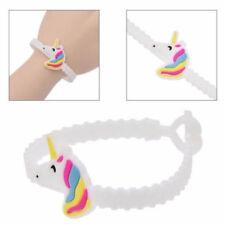 Soft Rubber Animal Unicorn Bracelet Wristband Bangle Party Favor Kids Xmas Gift