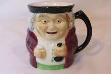 Vintage Staffordshire Porcelain Toby Mug Shorter & Son Ltd. Hand Painted Old Man