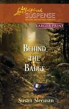 Behind the Badge (Love Inspired Large Print Suspense)