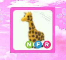 Adopt Me Neon Giraffe NFR | Legendary | Safari Egg | Offline until AM 🌅💤