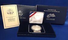 2004 Lewis & Clark Bicentennial Proof Silver Dollar with COA