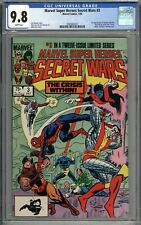 Marvel Super Heroes Secret Wars #3 CGC 9.8 NM/MT 1st App of Volcana & Titania WP