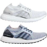 Adidas Ultraboost X W Damen Premium Laufschuhe Running Joggingschuhe weiß blau