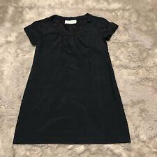 Graham & Spencer Dress Size Small Navy Blue Shift Short Sleeve Pockets