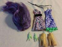 Monster High Doll Werewolf & Dragon Create a Monster Starter Pack!!