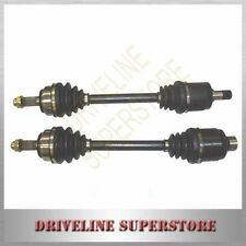 A PAIR OF NEW CV JOINT DRIVE SHAFTS FOR HONDA INTEGRA  DC2 1994-2001 with ABS
