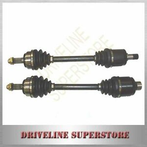 A PAIR OF NEW CV JOINT DRIVE SHAFTS FOR HONDA INTEGRA  DC5 YEAR 2002-2005 (36MM)