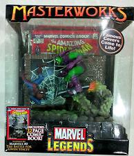 "Marvel Legends Master Works - 6"" Spiderman VS Green Goblin (MISB, Toy Biz)"