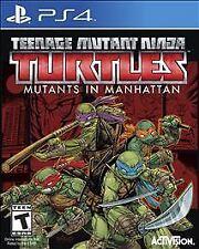 NEW Teenage Mutant Ninja Turtles: Mutants in Manhattan (PlayStation 4, 2016)